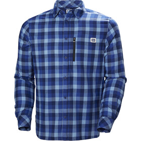 Helly Hansen Lokka LS Shirt Men catalina blue plaid